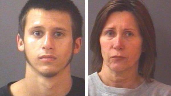 Richard Perillo, 21, Loughlin, Nev., and his mother, Renee Perillo, 51, Panama City, Fla., failed to show up Friday for an initial hearing on conspiracy to commit murder and other charges.
