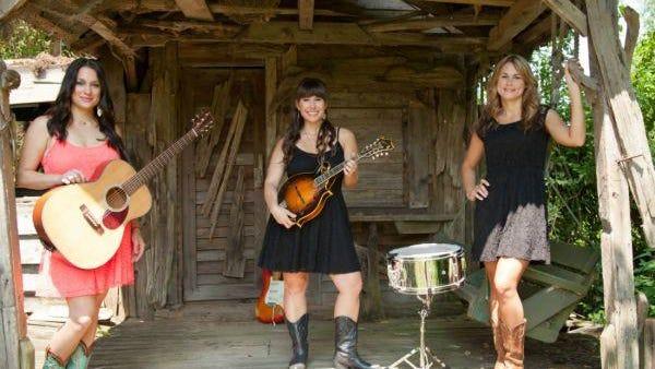 Louisiana folk group Sweet Cecilia includes Callie Guidry, Laura Huval and Maegan Berard