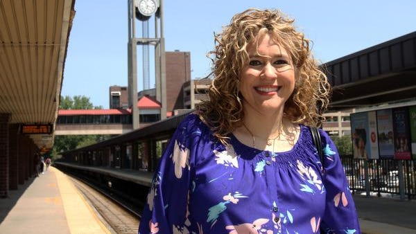 Ashleigh Paige of White Plains is photographed at the White Plains train station July 18, 2014.