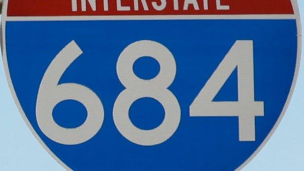 Interstate 684 road sign ( Albert Conte / The Journal News ) Feb 11,2011