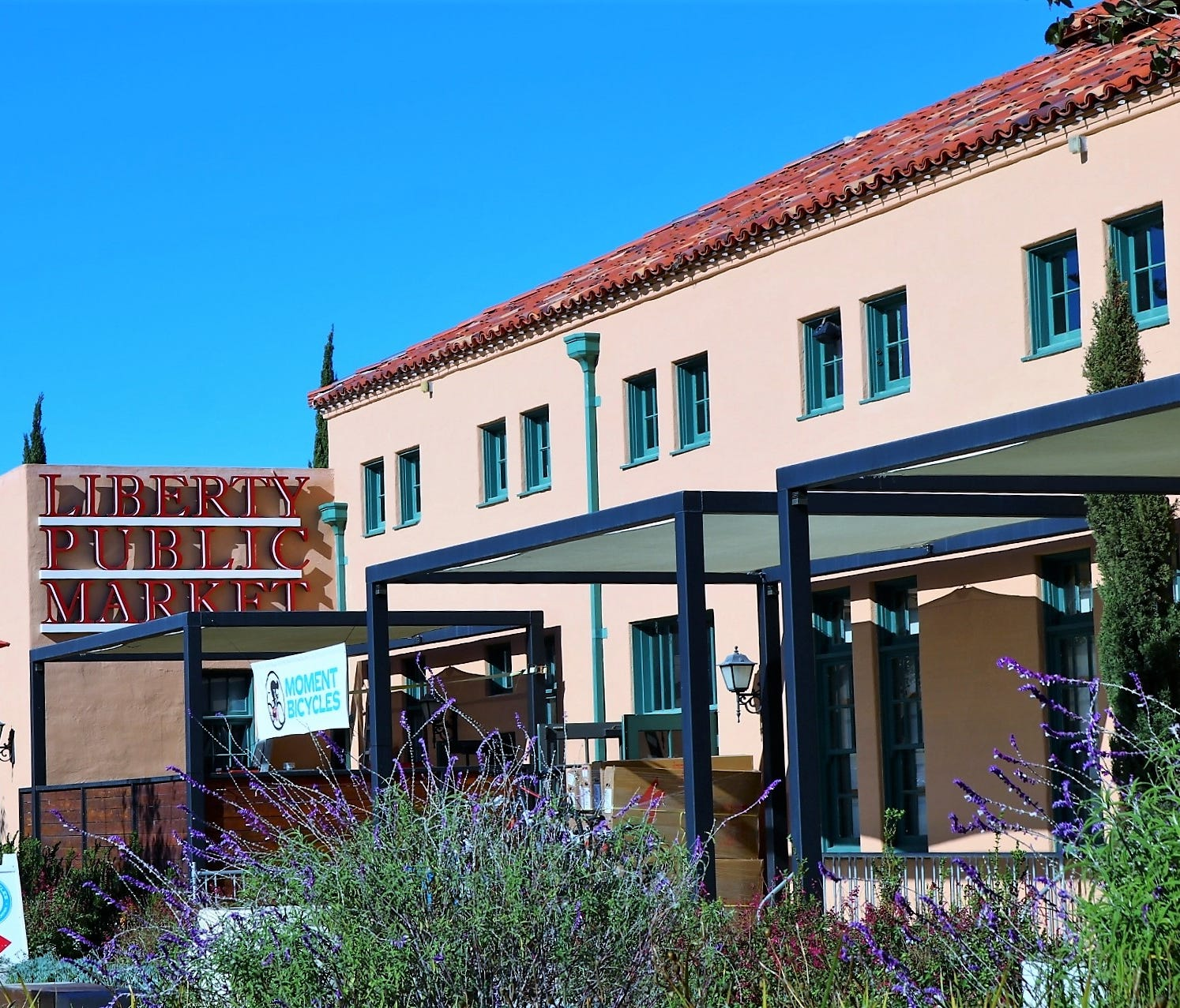 Liberty Public Market is nearing its second anniversary after opening in the historic Liberty Station in March 2016. The market showcases the building's original Spanish Colonial Revival architecture, dating back to the 1920s.
