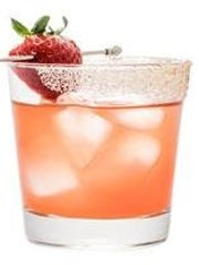 This Spicy Strawberry Margarita comes from Cointreau.
