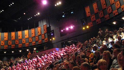 Scottsdale's performing arts center has been showing more foreign cultural films in recent years. A partnership with the Scottsdale International Film Festival might increase audiences.