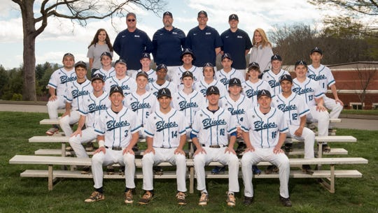 The Asheville School baseball team.
