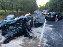3 people seriously injured in head-on crash in Bear
