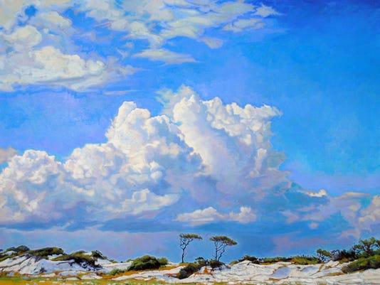 Charlie Buckley Clouds and beach.jpg