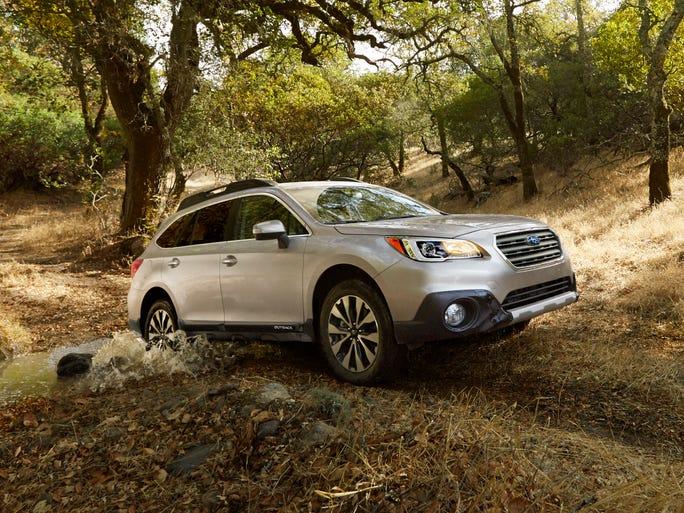Subaru's redesigned 2015 Outback
