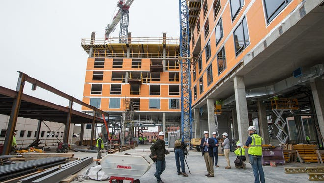 The Westin Hotel will create more competition among downtown Milwaukee's high-end hotels when it opens next summer.