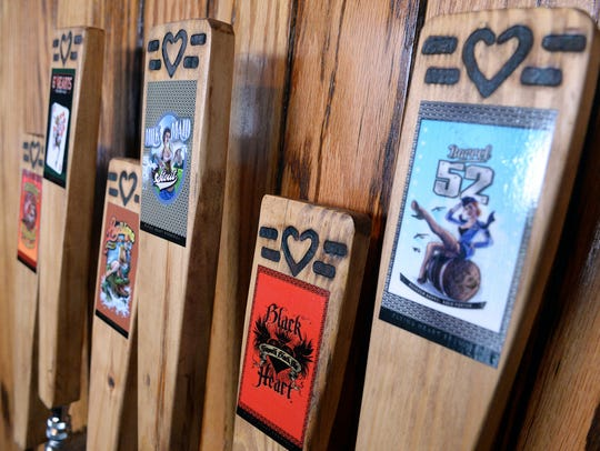 Flying Heart Brewing in Bossier City offers six selections