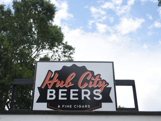 Hub City Beers and Fine Cigars is a new craft beer