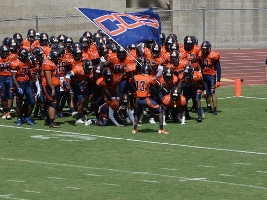 The College of the Sequoias Giants will open the 2017 football season on Saturday at Contra Costa.