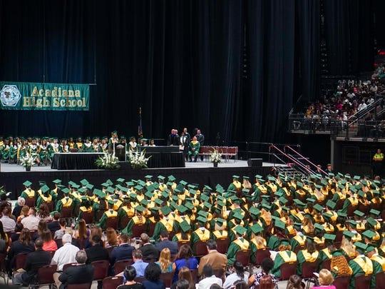 Acadiana High School Graduation.