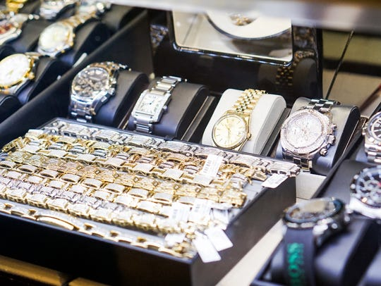 A look at the collection inside Intrigue Jewelers.