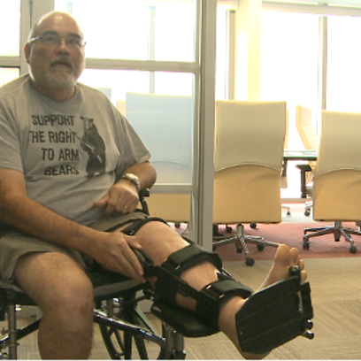 Navy veteran, Jose Barquero recovering from hit and