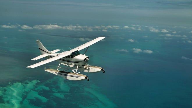 Salt Island Seaplanes is operating a four-passenger Cessna 206 amphibious sea plane from the Naples Municipal Airport through April 30.