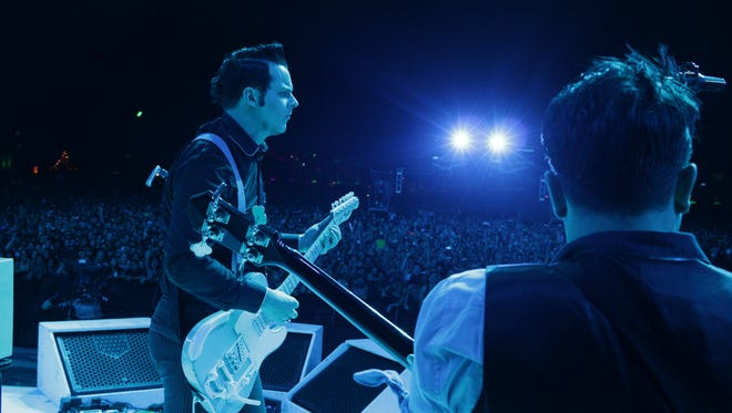 Jack White performs at Coachella on Saturday, April 11 2015