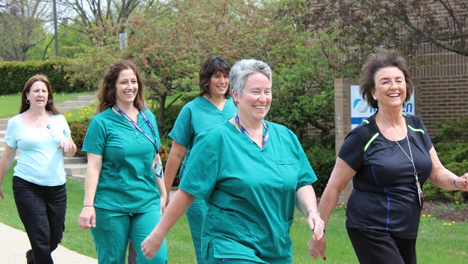 McLaren Greater Lansing continues to institute organized activities to promote action and healthy living within the hospital workforce.