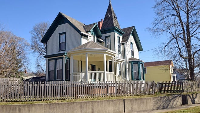 The home of noted Cincinnati architect Samuel Hannaford is being listed for sale. The asking price for the house in Cincinnati's Spring Grove Village neighborhood is $159,000.