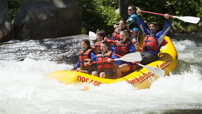 Nantahala Outdoor Center has experienced an increase in demand for stand-up paddleboarding, zip lining and more.