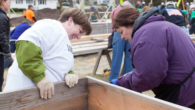 File - In 2016, a total of 51 projects, events and local non-profits benefited from the services of United Way of Manitowoc County volunteers.
