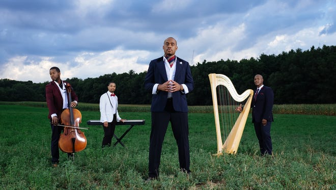 Sons of Serendip is a musical group of four friends, who through a series of serendipitous events, came together in graduate school at Boston University. They perform Saturday, February 18, at the Weill Center.
