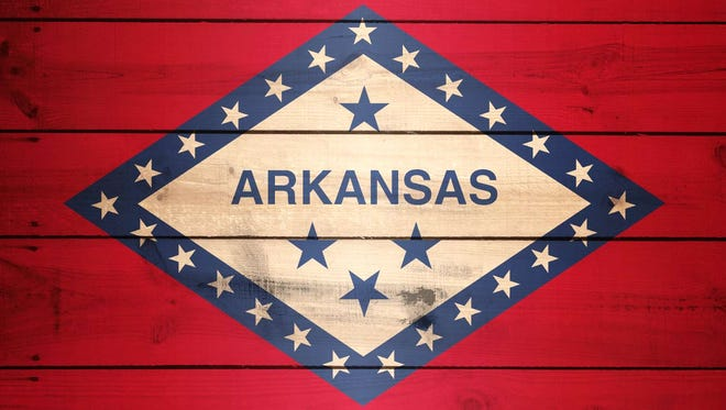 Arkansas Flag emblem