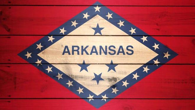 Arkansas Flag emblem