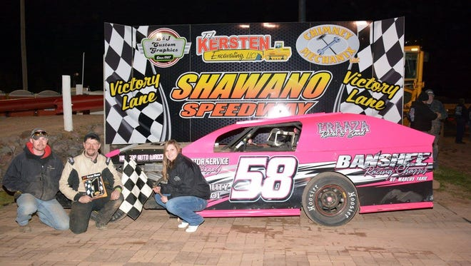 Wausau's Marcus Yarie has dominated weekly modified racing at Oshkosh Speedzone and Shawano Speedway in 2016. Yarie is in the driver's seat to win track titles at both ovals.