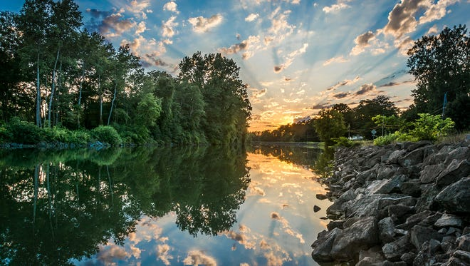 """""""Beaming Forth"""" by Joe Pompili of Spencerport took second place in the On the Water category in the 11th Annual Erie Canalway Photo Contest. The photo, taken on Canal Road in Ogden, will be included in the 2017 Erie Canalway National Heritage Corridor Calendar."""