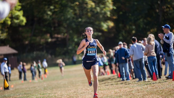 Runners compete at Bowdoin Park in the Section 1 Coaches and Officials Cross Country Invitational on Saturday.