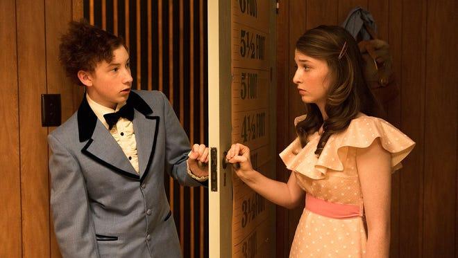 "Harrison Feldman and Bethany Whitmore in ""Girl Asleep."""