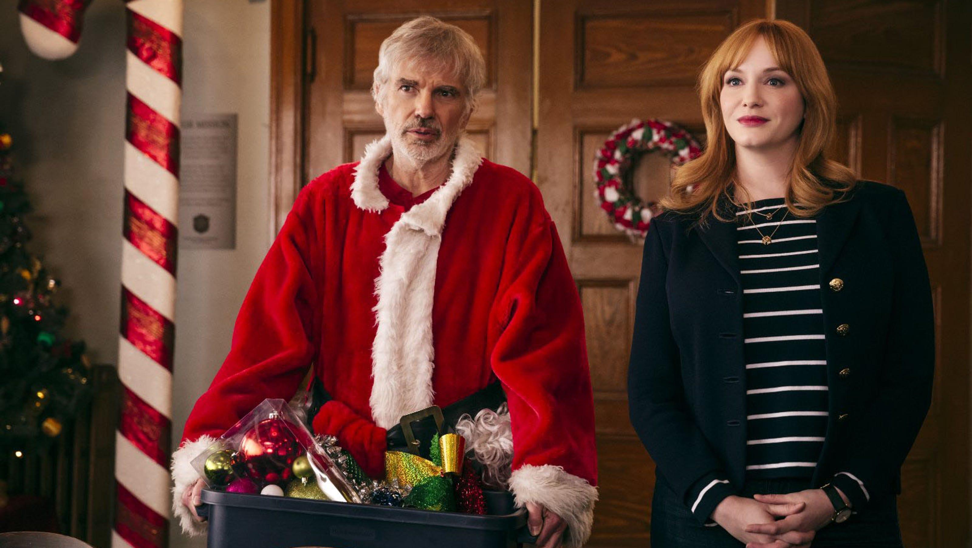 Movie Review Bad Santa 2 More Sad Than Bad