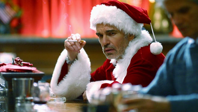 "Billy Bob Thornton craves more than eggnog in ""Bad Santa 2."""
