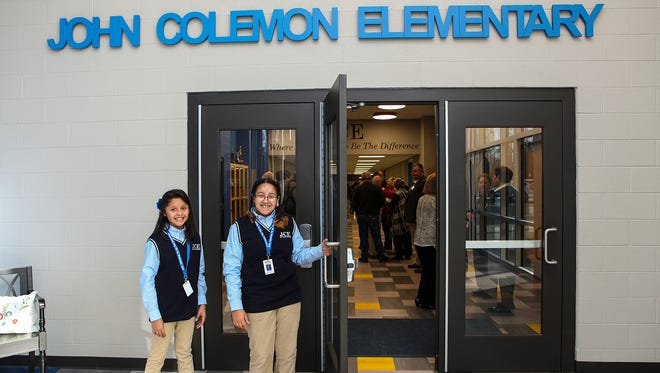 John Colemon Elementary in Smyrna was recognized by the state Department of Education for its performance on the annual TNReady assessment.