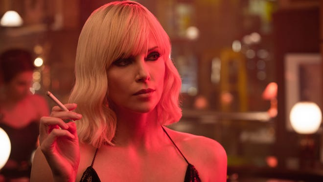 """Seems safe to assume that spy Charlize Theron will break necks at breakneck speed in the action thriller """"Atomic Blonde."""""""