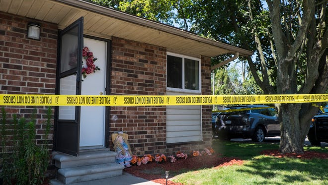 Police are investigating a body found inside an apartment on Taylor Street in Port Huron.