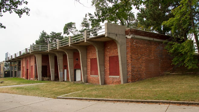 At the city council meeting Monday, the city will recommend they tear down the closed vantage point at the south end of Pine Grove Park. The vantage point has been closed off for about a year.