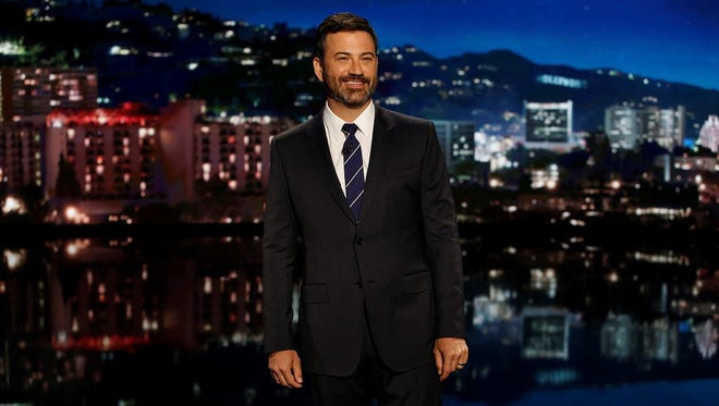 Jimmy Kimmel Live will announce three Kmart Blue Light specials this month. It's one of the frequent integrations the show does with various brands.