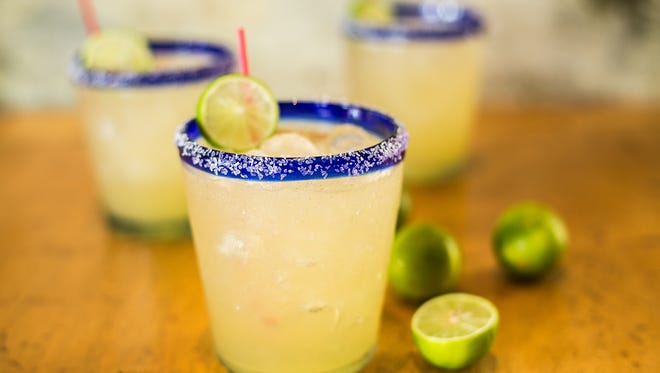 Felipe's Mexican Taqueria in Naples offers two-for-one margaritas all day Thursday, Feb. 22.
