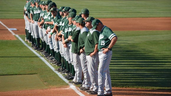 The Delta State University baseball team.