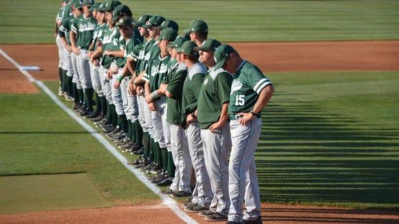 The Delta State University baseball team.