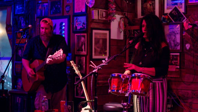 Catch the Rhonda Hart Duo on Wednesday night at the Flora-Bama.