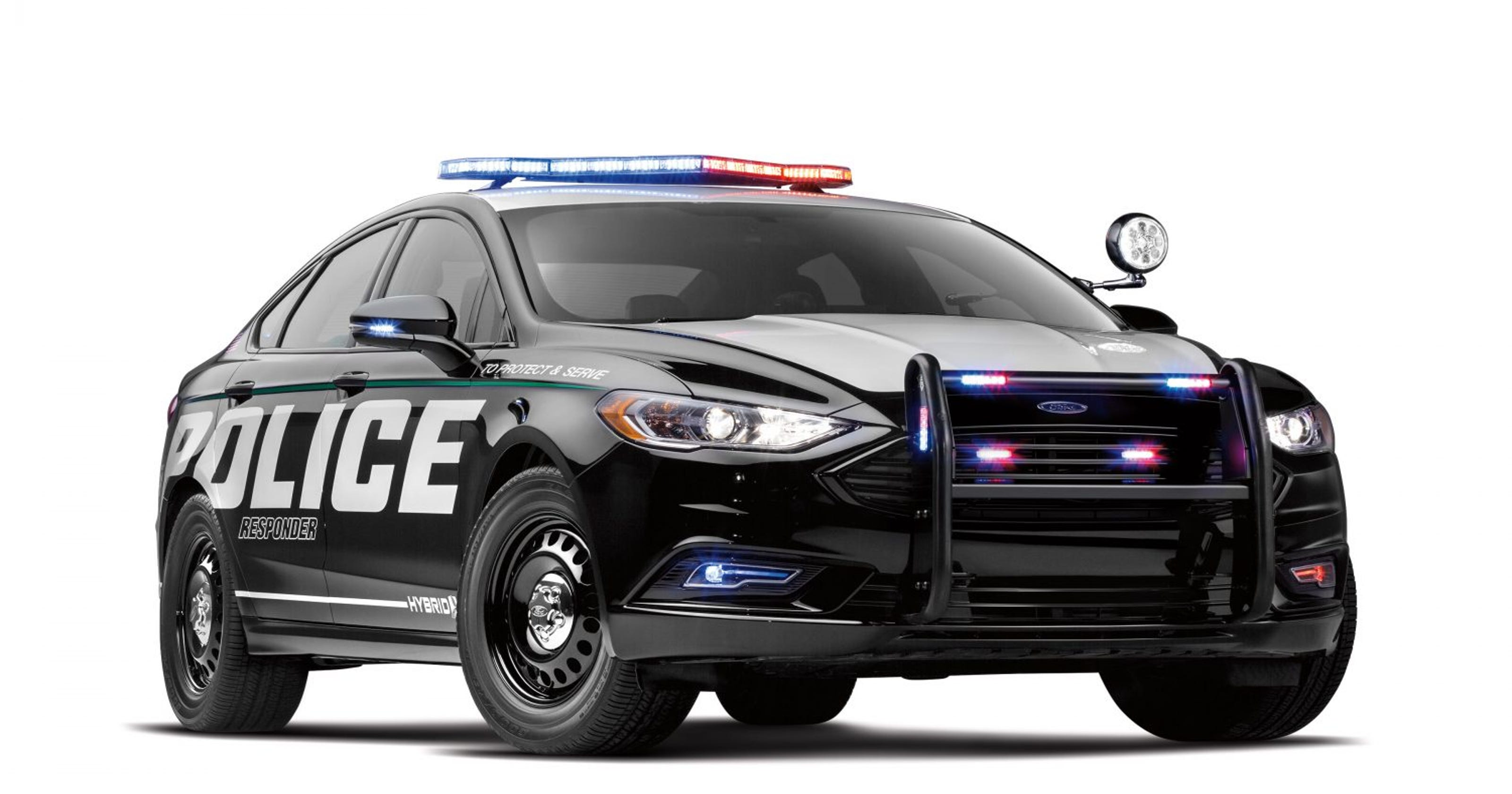 Ford Hybrid Pitched As Durable Stealth Cop Car