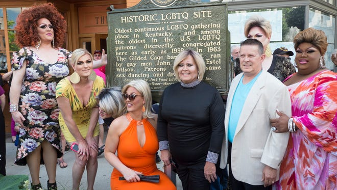 One of Kentucky's first historic markers to commemorate LGBTQ culture debuted June 3 in Lexington.