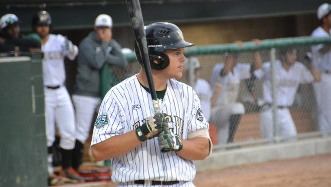 The Wisconsin Woodchucks, including University of Wisconsin-Stevens Point student Payton Nelson, will host the Wisconsin Rapids Rafters at Athletic Park in Wausau Saturday, June 23.