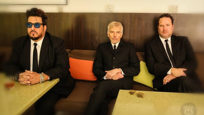 The Boxmasters (from left, Teddy Andreanis, Billy Bob Thornton and J.D. Andrew) play the Admiral Theatre July 10.