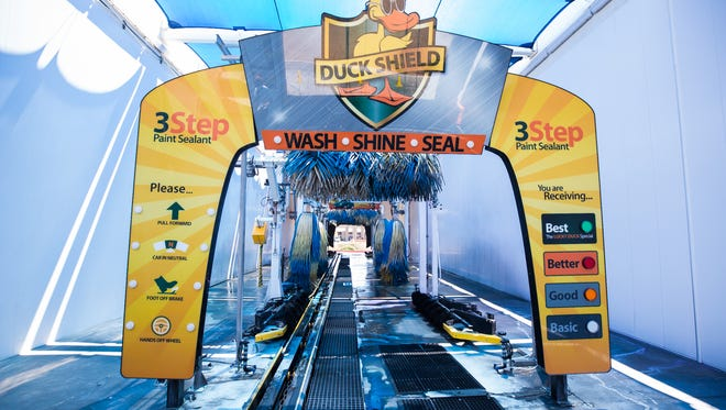 Quick Quack car washes use environmentally responsible techniques.
