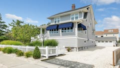 Mantoloking home beams pleasant curb appeal