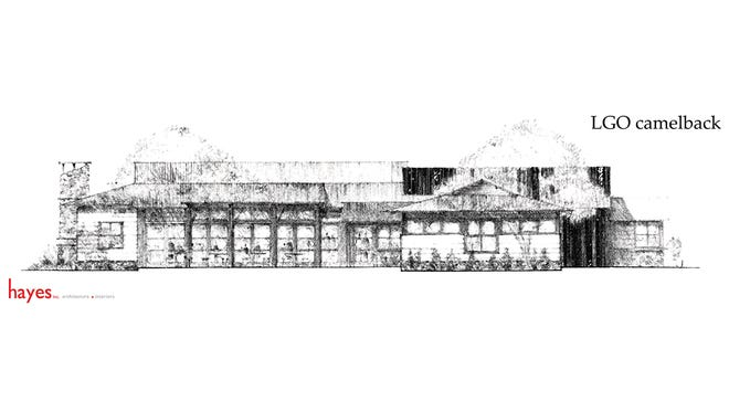 A sketch of the new restaurant on Camelback Road.