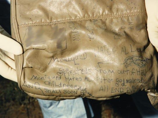 Unidentified woman's purse
